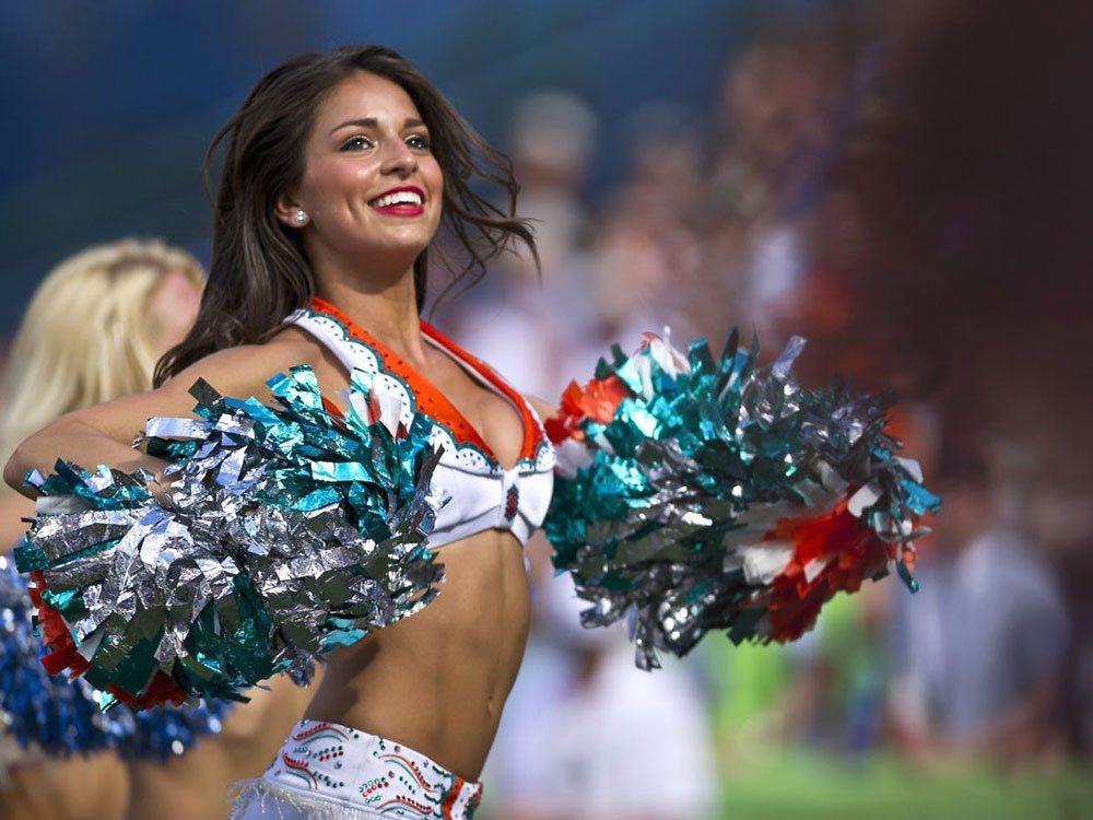American Football Cheerleading