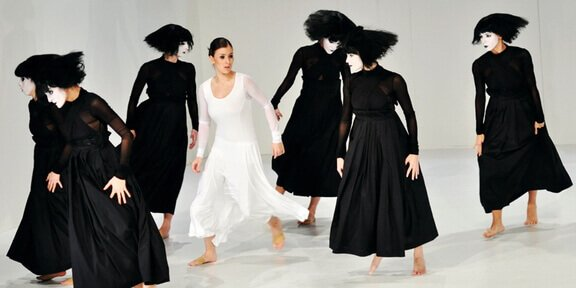 Workshop of contemporary dance