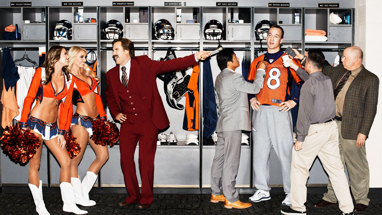Reliving Ron Burgundy's legendary Peyton Manning interview