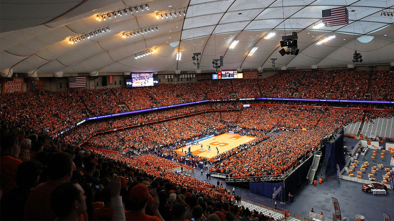 Watch the Carrier Dome roof deflate