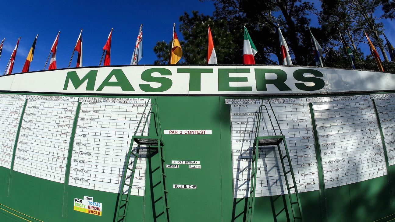 Possible hints at the Masters in October?