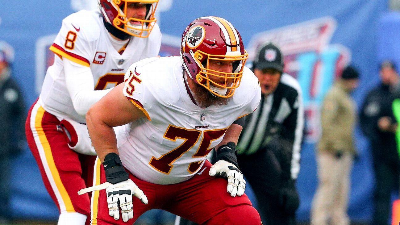 Redskins place franchise tag on guard Scherff