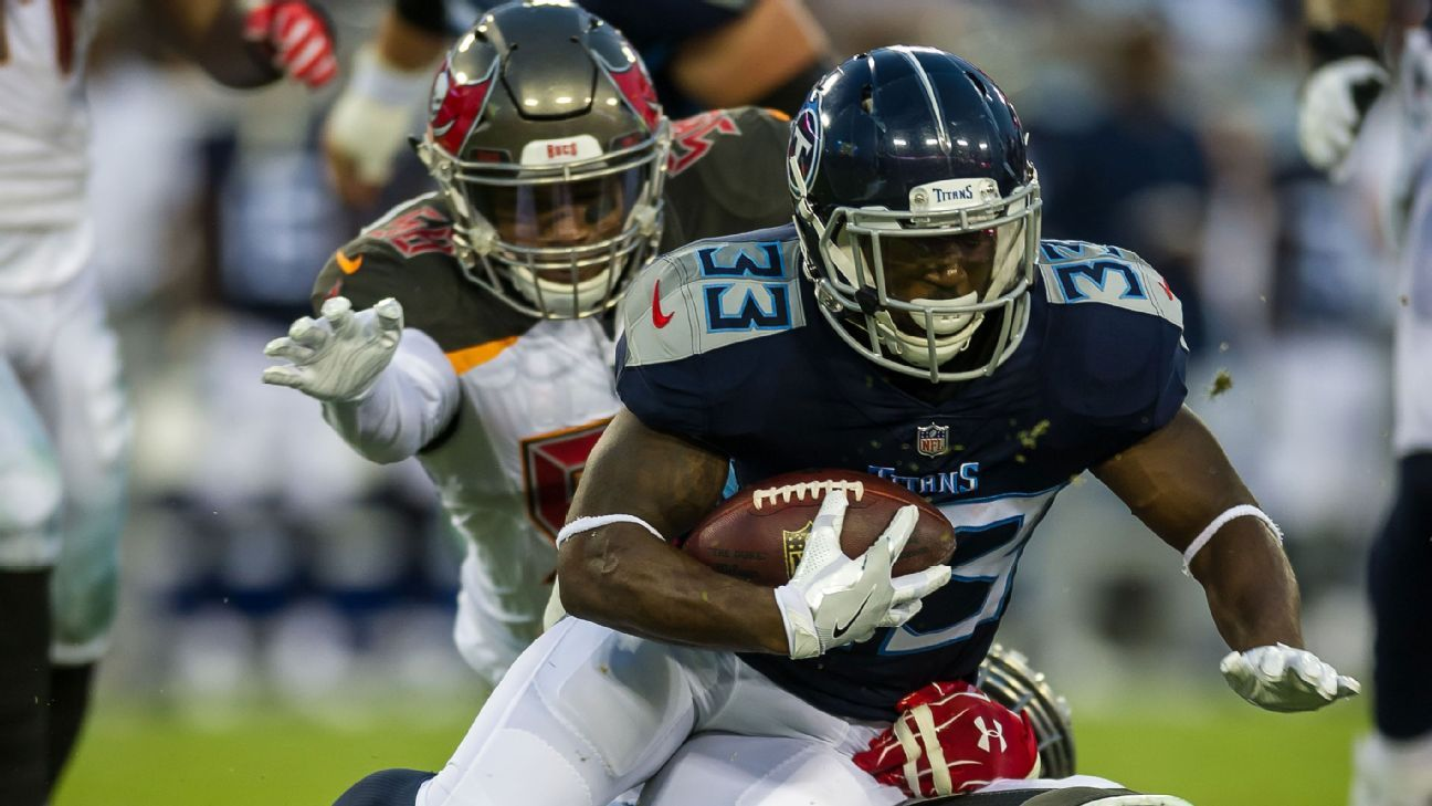 Source: Giants agree with ex-Titans RB Lewis