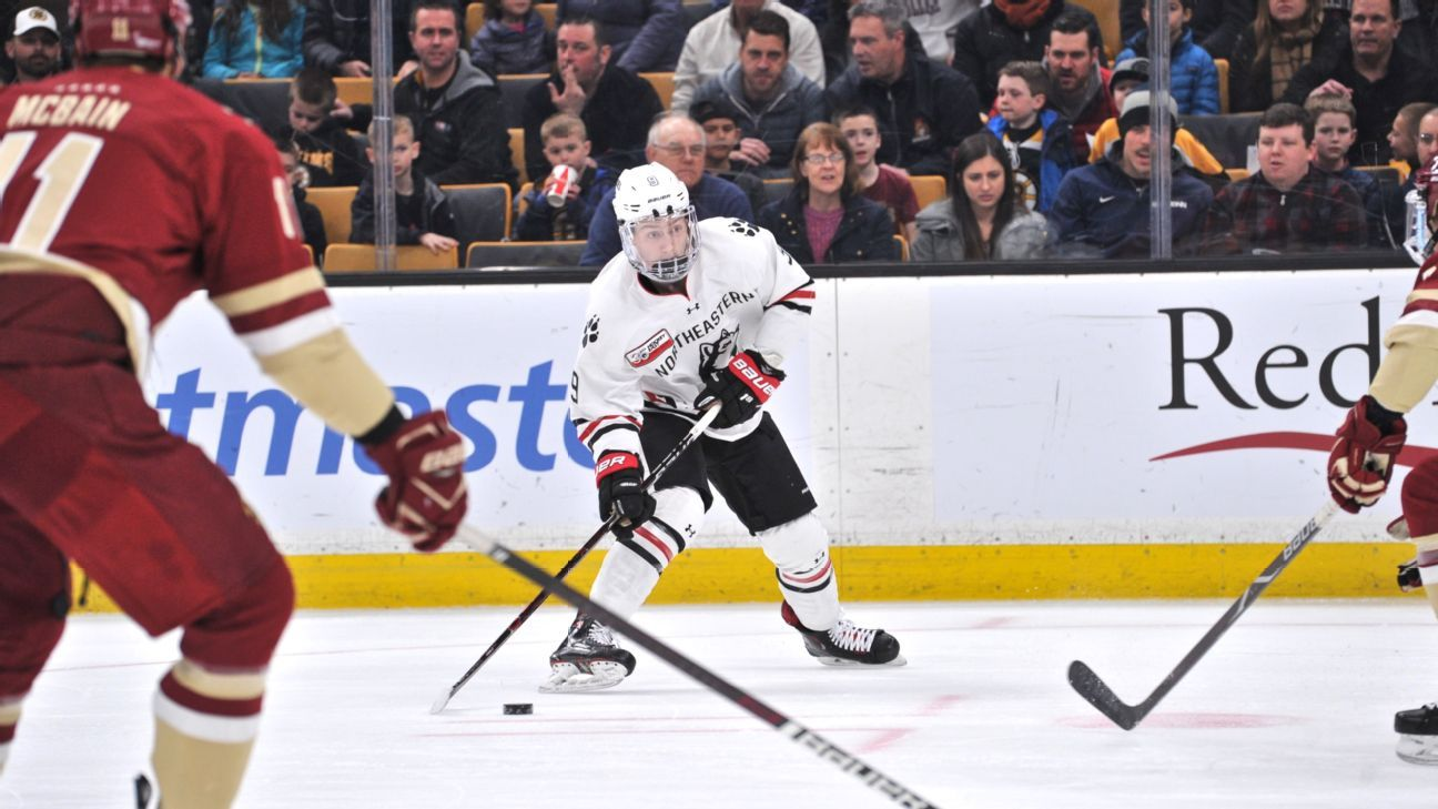 Northeastern star Madden inks deal with Kings