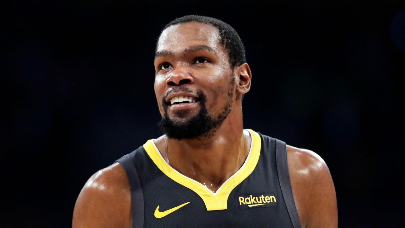 Durant among four Nets to test positive for virus