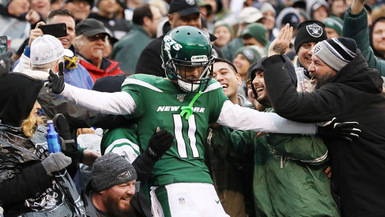 Jets' Anderson has dreamed of playing with Brady