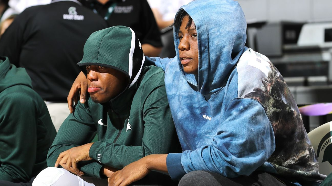 Basketball helps Michigan State's Winston, brother Khy cope with immense loss