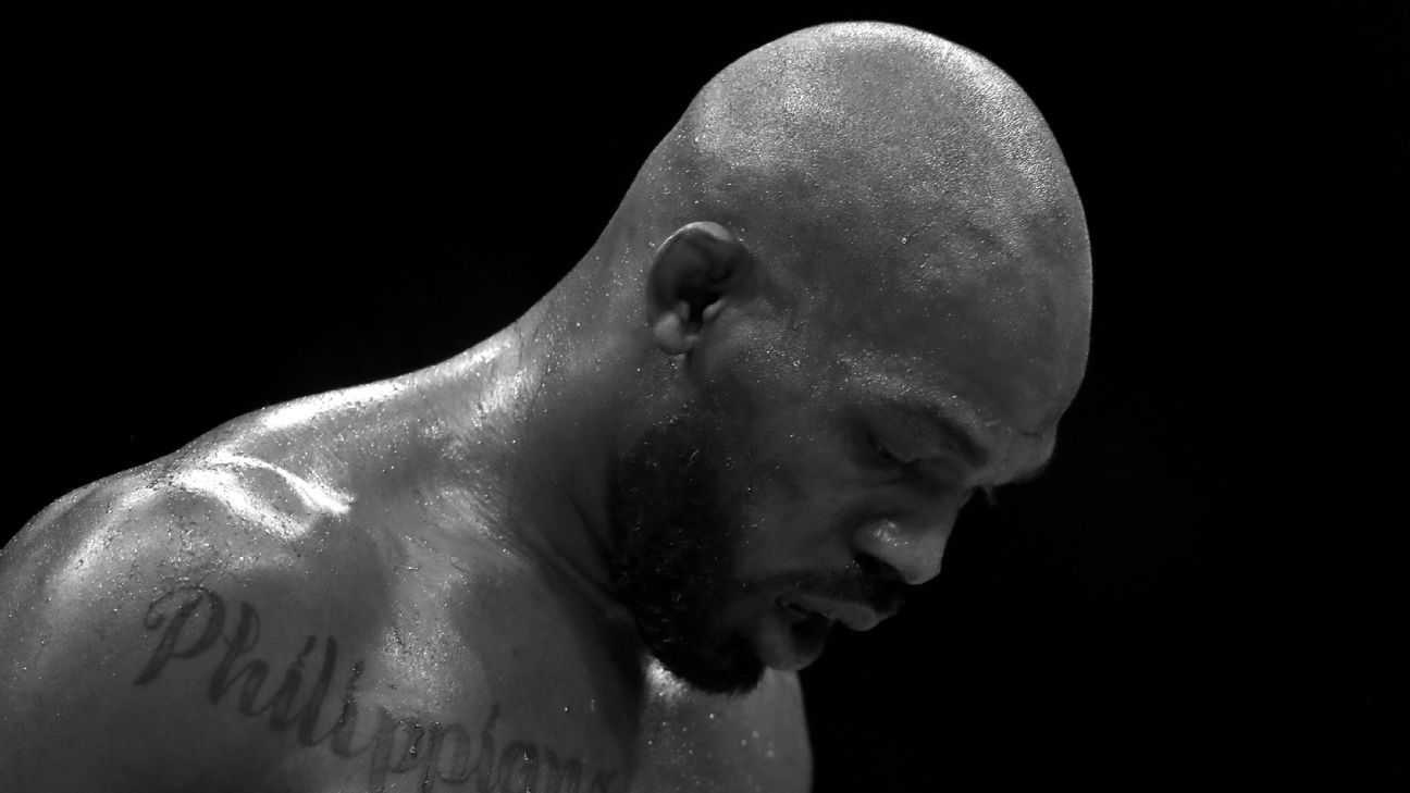 How the 'storm' of Jones' past keeps catching up with the UFC champ