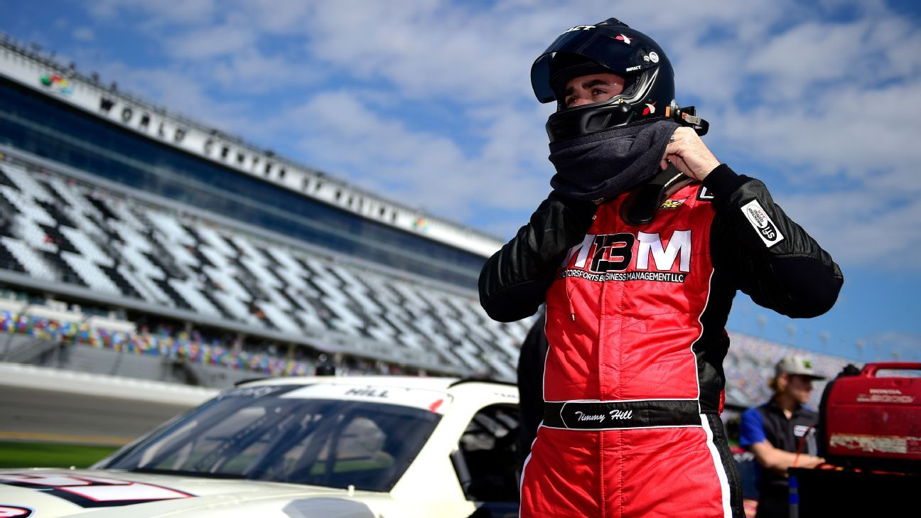 Virtual victory: Hill wins NASCAR's iRacing event