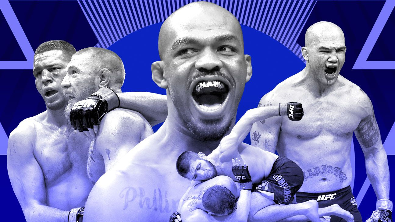 You want fights? We've got a full day of the greatest in UFC history