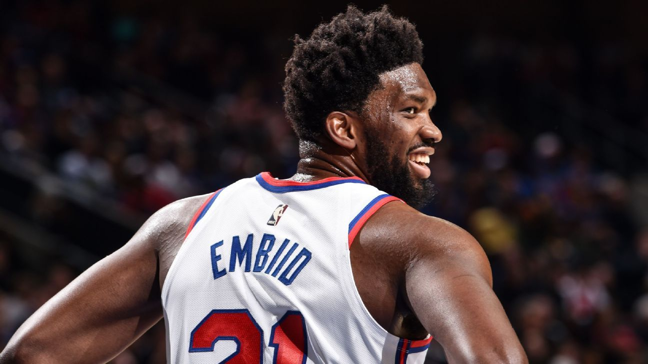 Embiid leads charge for medical staff testing