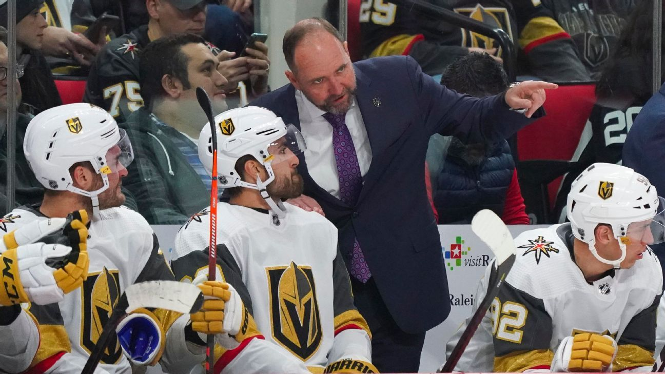 Vegas coach Peter DeBoer on the NHL's coronavirus pause, and coaching a team that hated him