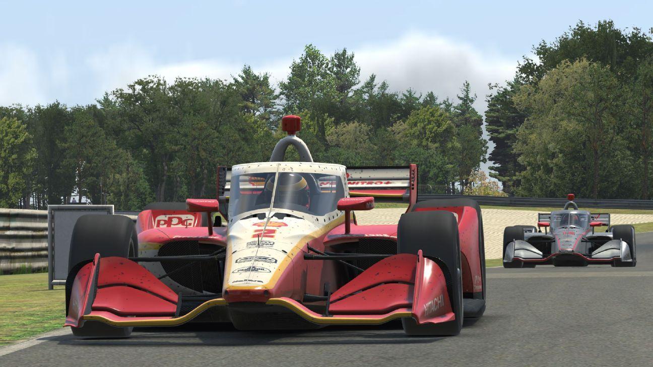McLaughlin wins virtual IndyCar 'debut' at Barber